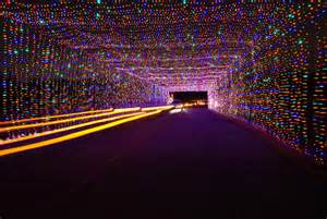 Light tunnel at Prairie Lights.