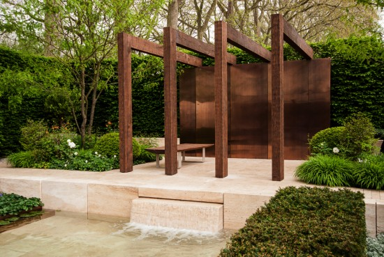 Sculptural Pergola