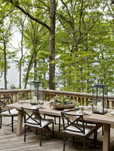 10 amazing outdoor dining rooms