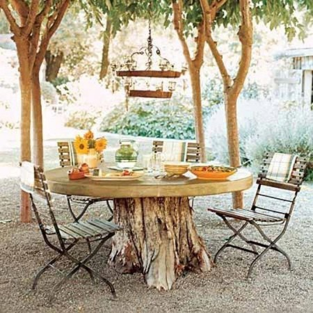 outdoor dining most creative table