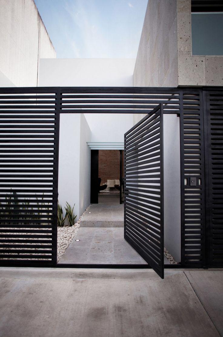 Landscape Inspiration Modern Metal Gate