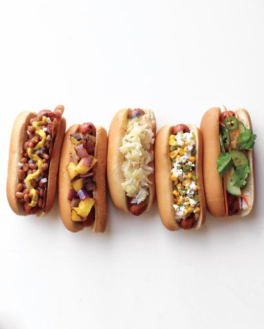 Independence Day Celebration Food Ideas - Hot Dogs