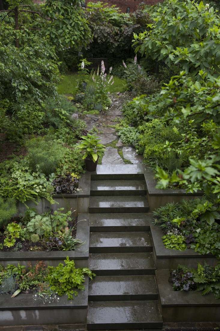Bluestone Steps - Grade Change Ideas