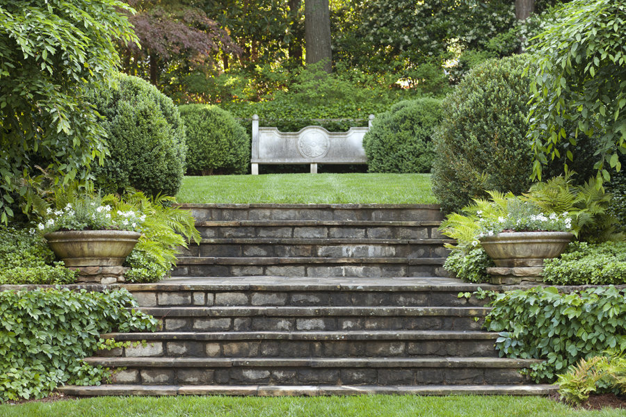 Landscape ideas grade changes terraces and steps garden stairs landscape ideas for grade change workwithnaturefo