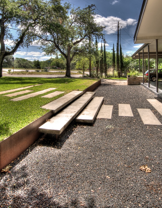 Landscape Ideas - Grade Change - Outdoor Steps - Contemporary Ideas