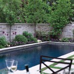 Privacy Screening Stone Wall - Canadian House & Home