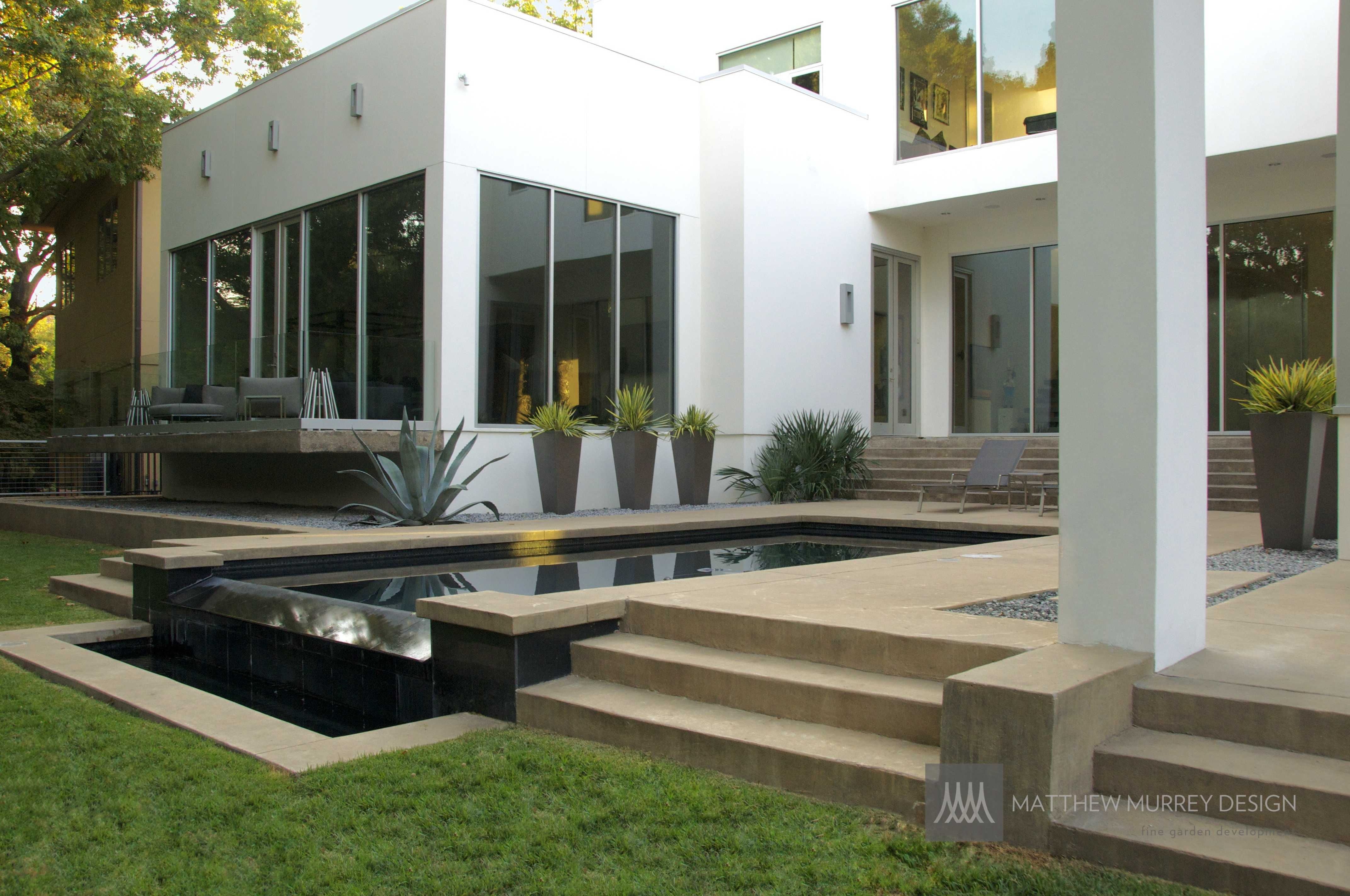Contemporary Negative Edge Pool