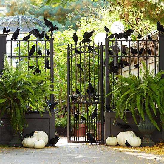 Halloween decor the 3 best outdoor themes for halloween for Decoration gate