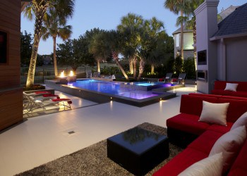 Contemporary Landscape Design - Dallas, Texas - Matthew Murrey Design