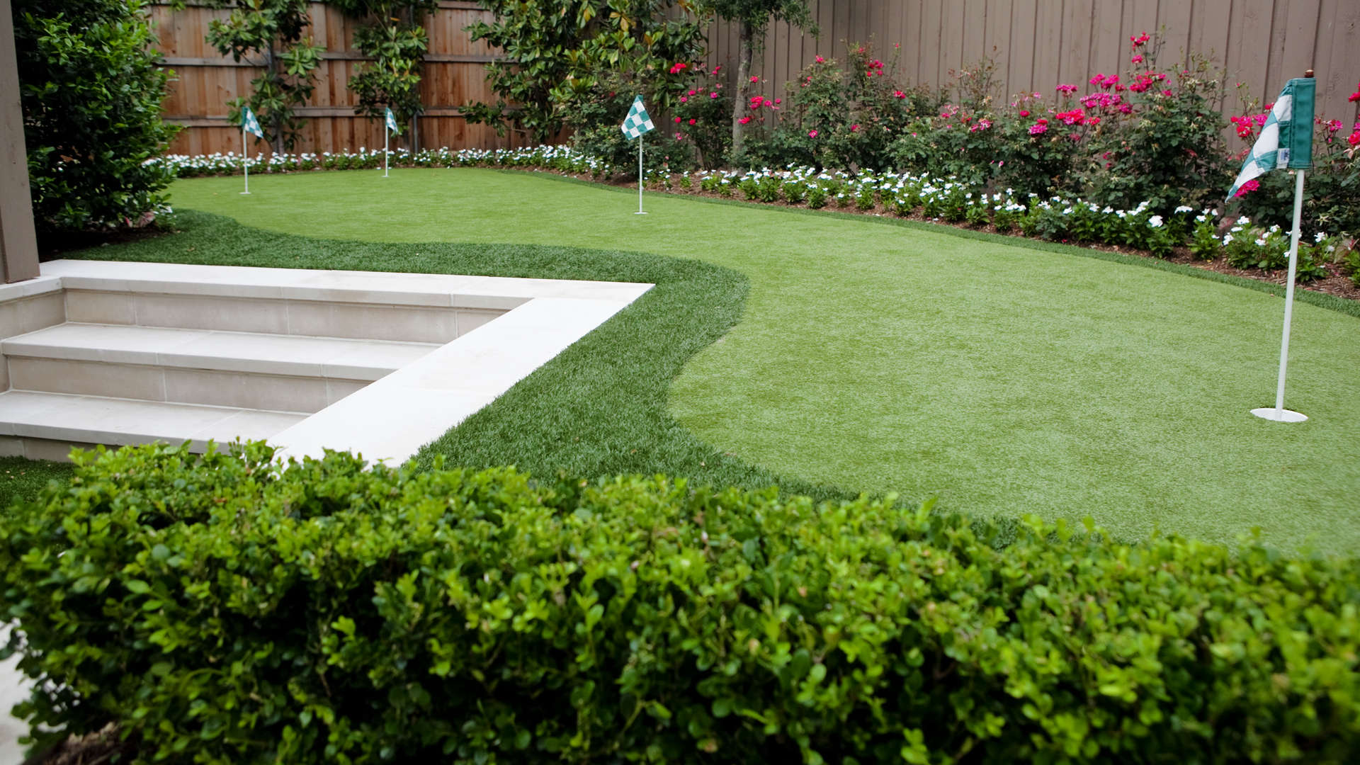 Transitional landscape design plano tx for Garden design landscaping dallas tx