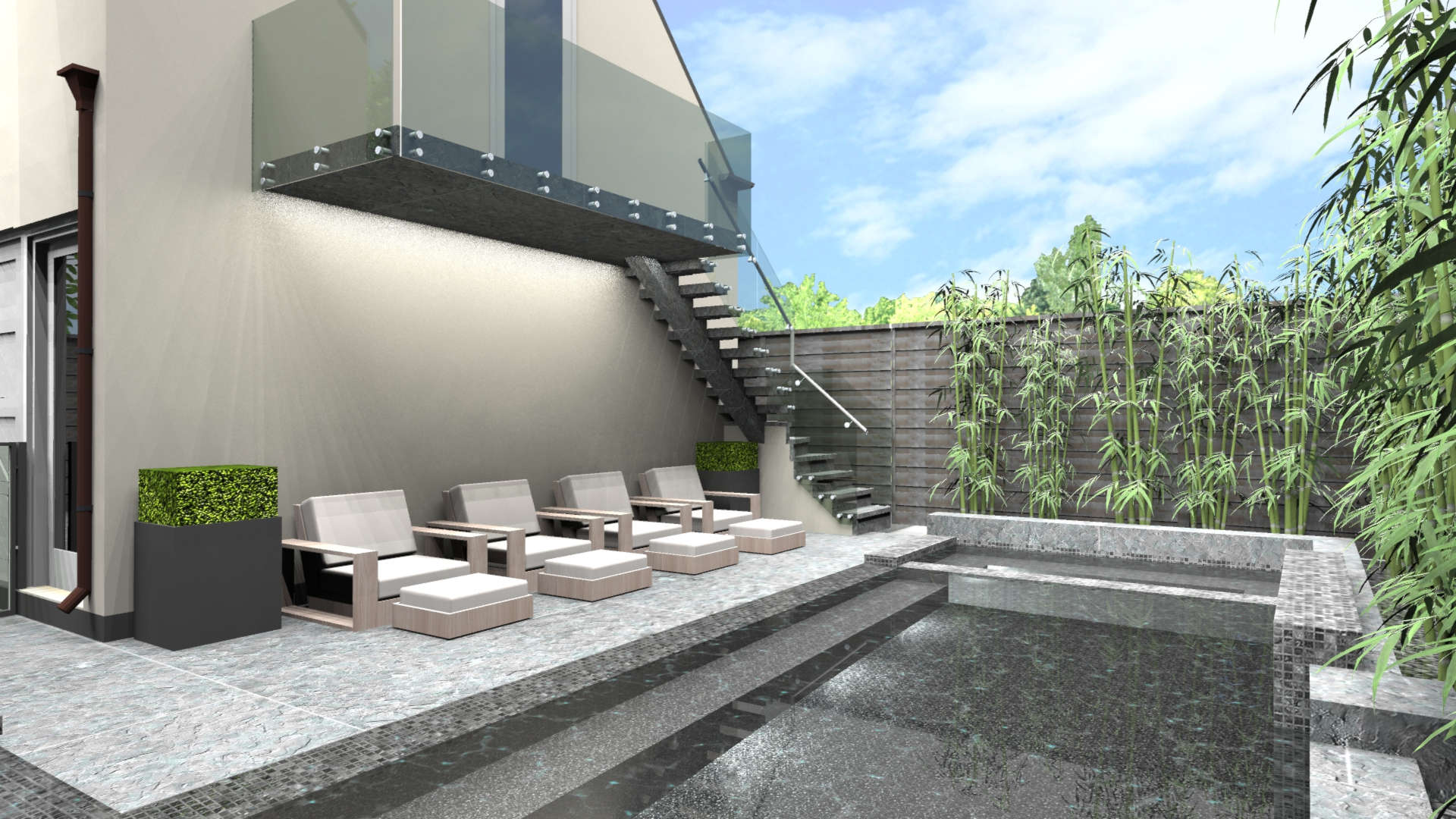 Contemporary Landscape Design in Dallas, TX - Matthew Murrey Design