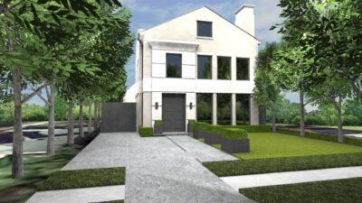 Contemporary Landscape Design in Dallas, TX - Matthew Murrey Design