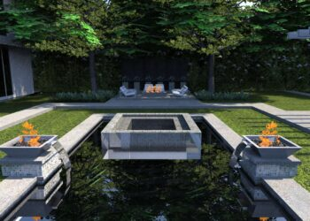 Modern Pool & Spa Design