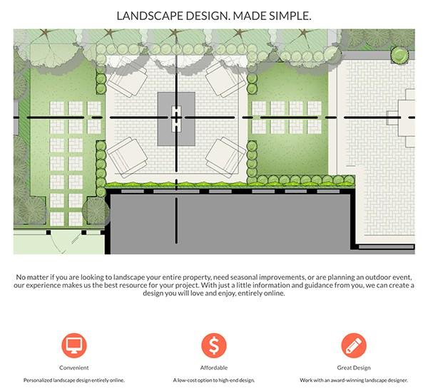 Hire a landscape designer online