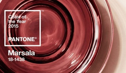 Color of the Year 2015 - Marsala