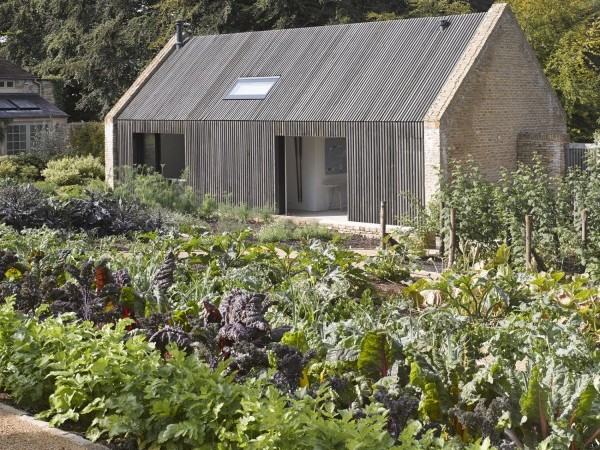 Pool House and Garden designed by Michaelis Boyd of London