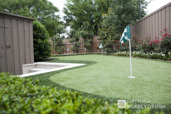Transitional Putting Green