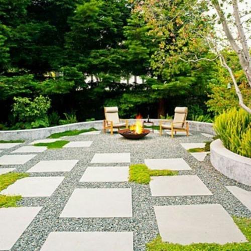 Backyard Landscaping Ideas No Grass Matthew Murrey Design