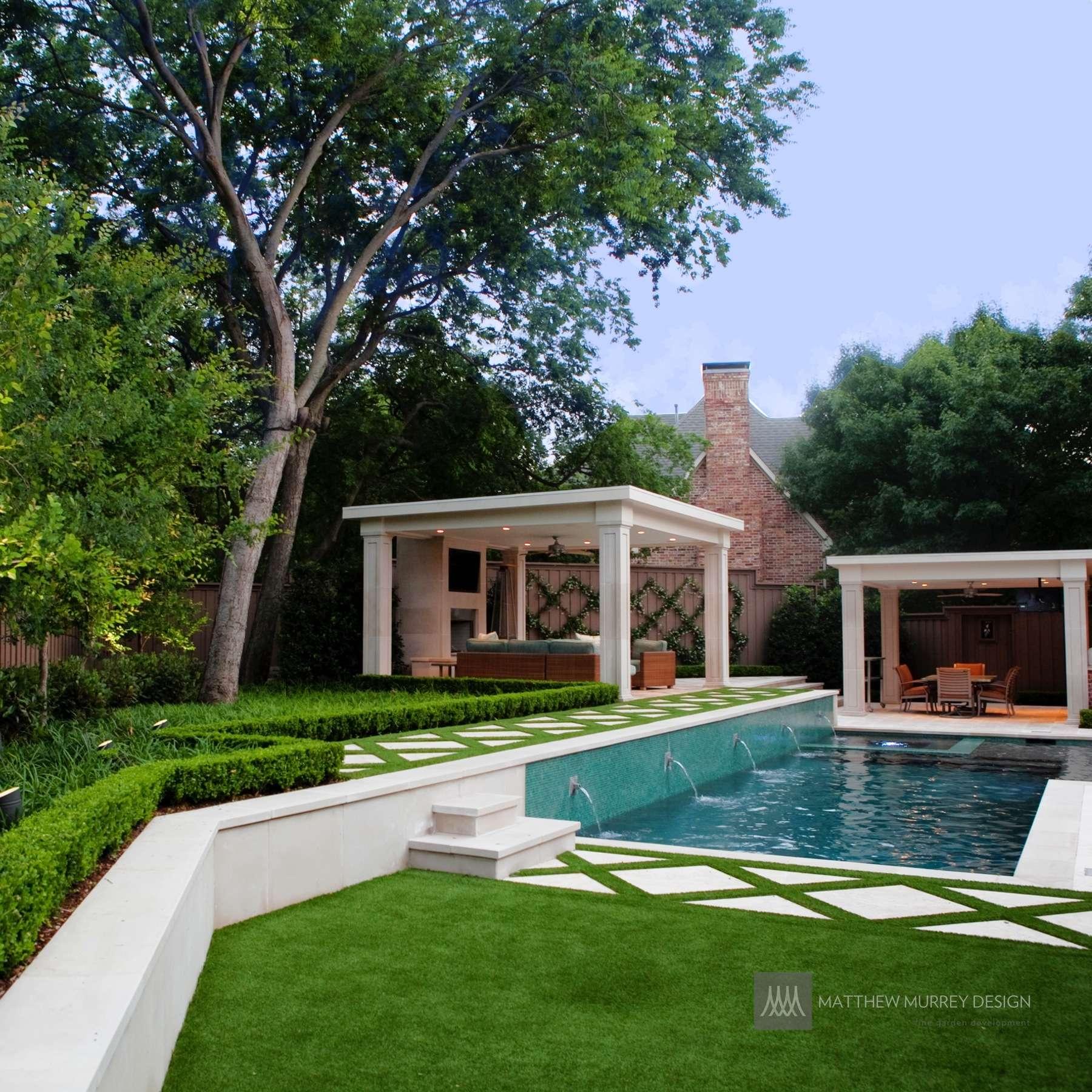 Transitional Contemporary Garden