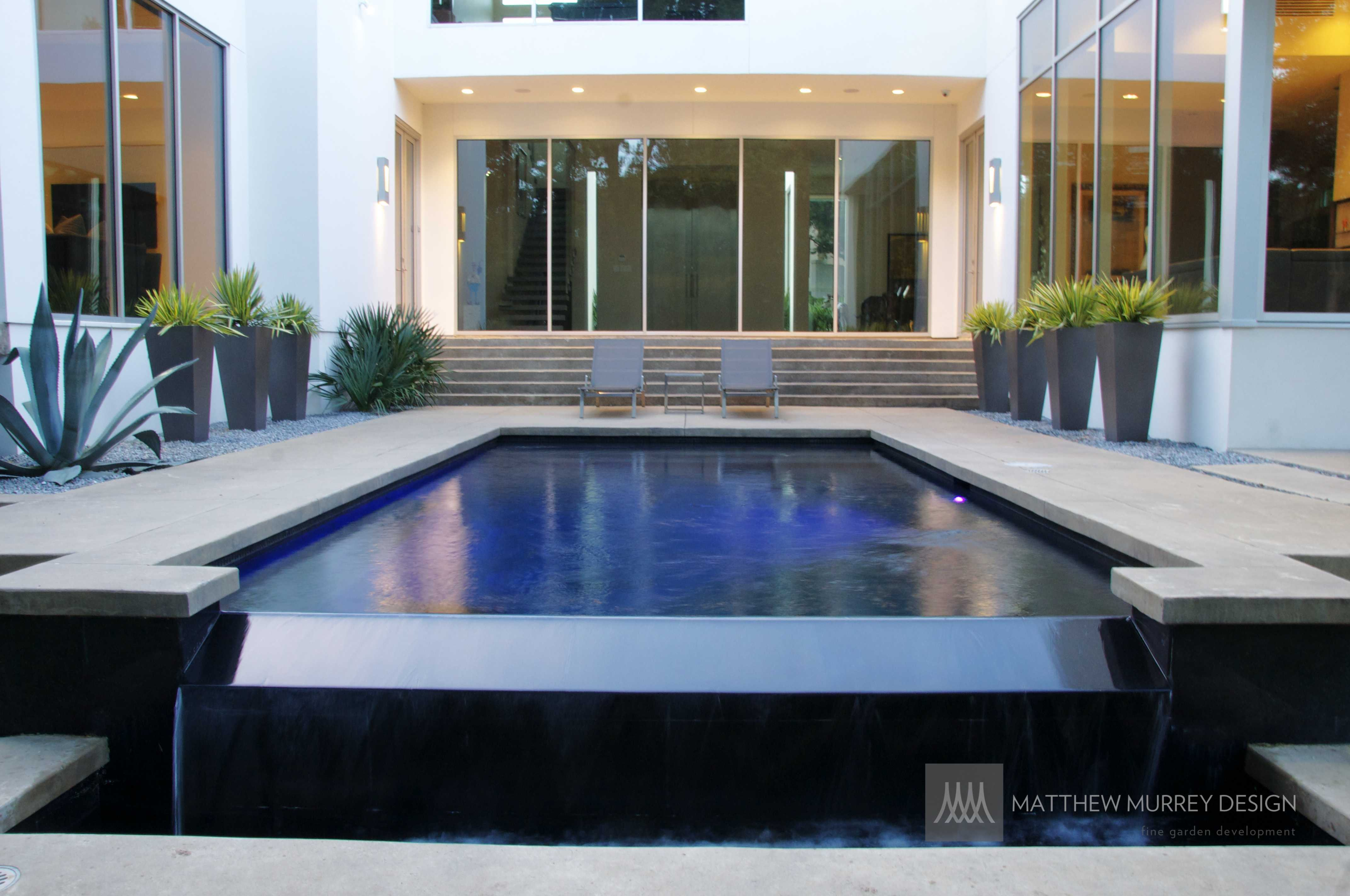 contemporary pool - contemporary landscape - contemporary driveway