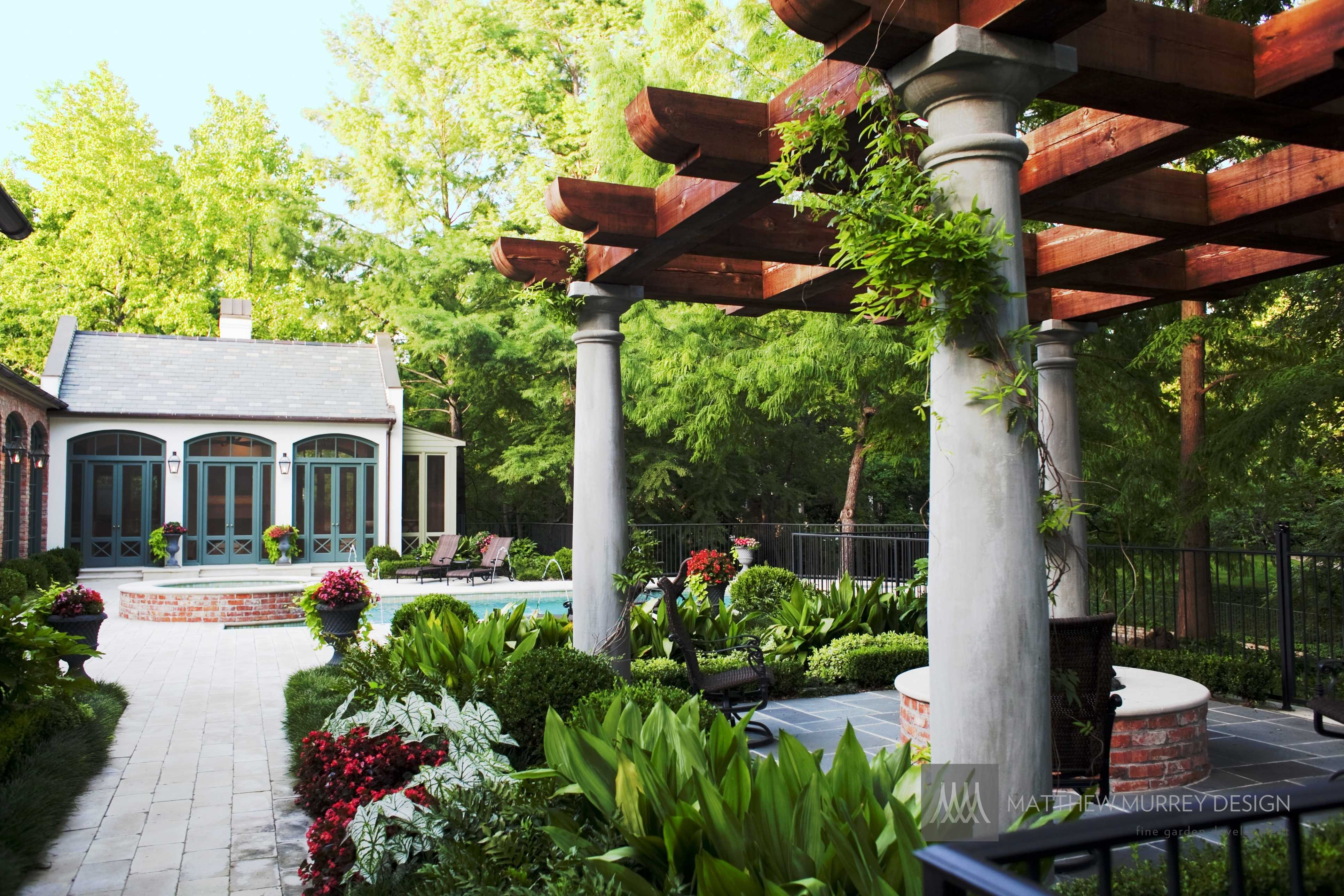 Southern Arbor, Cabana and Pool